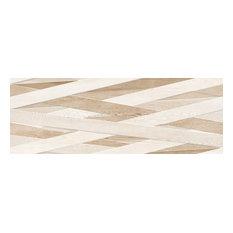 "13""x36"" Laccio Tiles, Set of 4, Wood H/R"