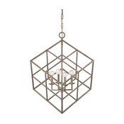 Savoy House Halston 4-Light Pendant, Argentum - 3-313-4-211