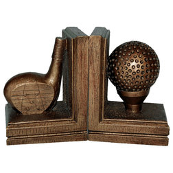 Traditional Bookends by Hickory Manor House