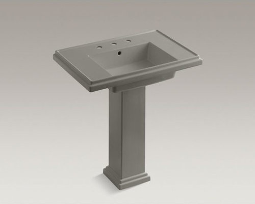 "Tresham(R) 30"" pedestal bathroom sink with 8"" widespread faucet holes - Bathroom Sinks"