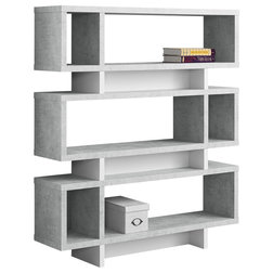 Transitional Bookcases by Monarch Specialties