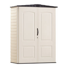 Rubbermaid 4.3' Wx2' Dx6' H Small Vertical Shed