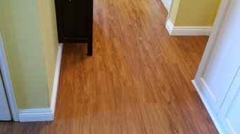 Armstrong Luxe Plank with Rigid Core Tropical Oak in Natural