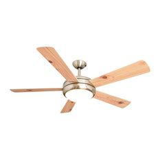 Ursa Ceiling Fan, White and Pine