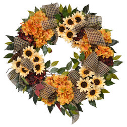 Farmhouse Wreaths And Garlands by Creative Displays & Designs, Inc.
