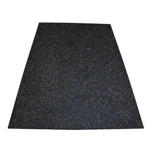 FlooringInc Premium Rubber Vulcanized Gym Mats, 3/8