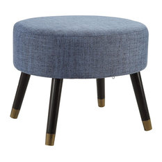Convenience Concepts - Designs4Comfort Mid Century Ottoman Stool - Footstools and Ottomans  sc 1 st  Houzz : modern ottomans and stools - islam-shia.org