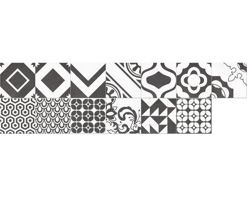Quilt Deco Black - Wall & Floor Tiles