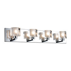 Tina 4-Light Vanity Light, Chrome