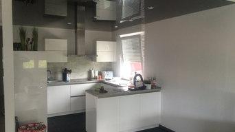 Lackspanndecke in der Küche