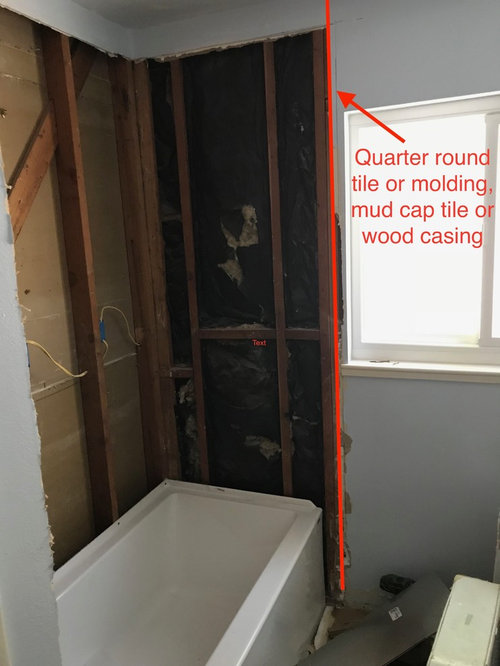 Tile To Drywall Transition Help