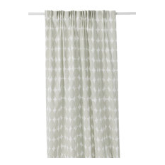 Vilma Long Curtain, Natural