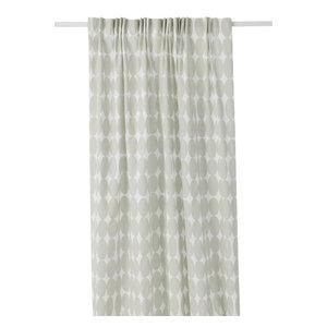 Vilma Long Curtain, Natural
