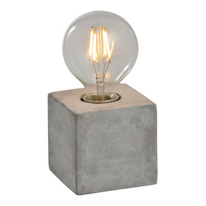 Katerina Table Lamp, Concrete