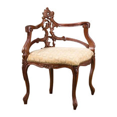 Design Toscano   French Salon Corner Chair   Armchairs And Accent Chairs