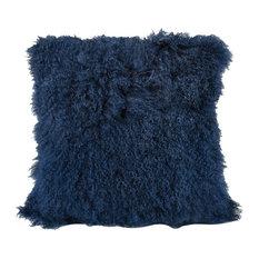 Elk Apres-Ski Pillow, Blue 5227-001, Navy