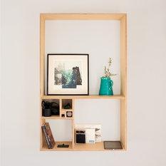 - Golden Shelving Unit - Storage Units & Cabinets