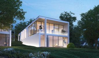 Arkitekttegnede huse
