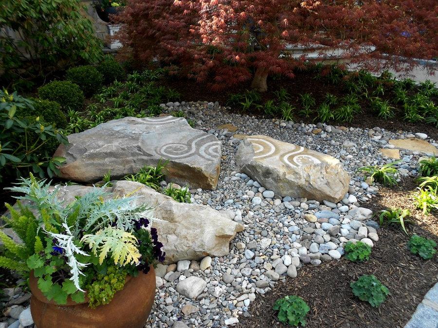 Rock Garden Landscape Sculpture: Art in the garden