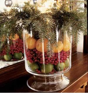 christmas centerpieces | houzz