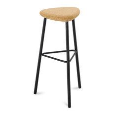 Pick Modern Italian Cork Seat Bar Stool