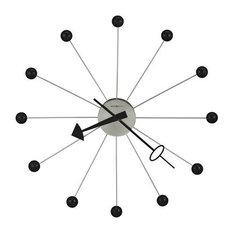 howard miller howard miller ball clock ii clock wall clocks