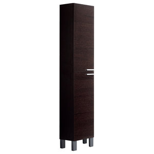 Koncept Column Bathroom Cabinet, Wenge