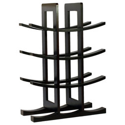 Transitional Wine Racks by ergode