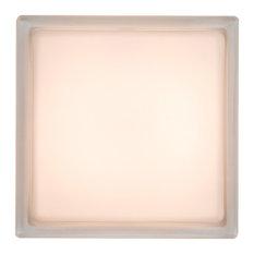 Tech Lighting Boxie Ceiling Light, Fluorescent, Chrome