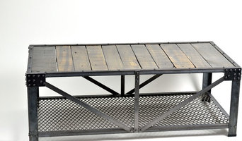 Industrial Truss style Coffee Table