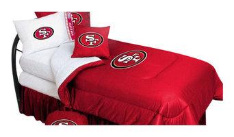 San Francisco 49ers Bedding - NFL Comforter and Sheet Set Combo