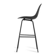 Ta Counter Stool/Black Seat Black Base