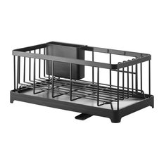 Tower Wire Dish Drainer Rack Black