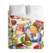 Deny Designs CayenaBlanca Blossom Pastel Duvet Cover - Lightweight