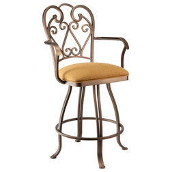 Mediterranean Bar Stools And Counter Stools by Taylor Gray Home
