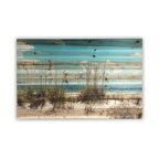 """Sand Dunes"" Wall Art Photograph on Wood, 24""x36"""