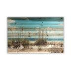 """Sand Dunes"" Wall Art Photograph on Wood, 24""x36"""