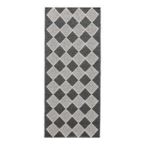 Dialog Woven Vinyl Floor Cloth, Black, 70x300 cm