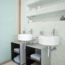 Bathrooms by YLAB Arquitectos Barcelona