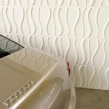 Car Showroom WallArt 3d panels 3dboard