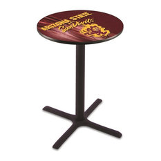 Arizona State Pub Table with Sparky Logo 42-inch by Holland Bar Stool Company
