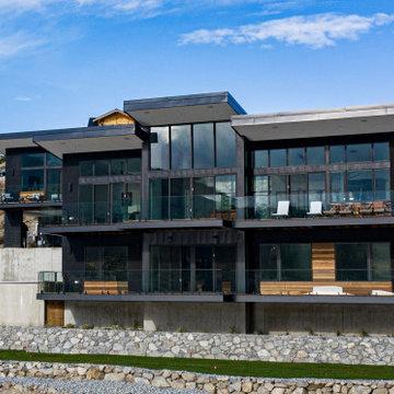 Chelan Cove Residence. Manson, Washington