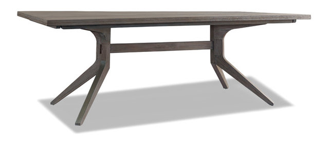 Palmer Modern Trestle Table - Midcentury - Dining Tables - by ...