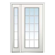 """Classic Fiberglass Smooth, 51""""x81.75"""", Hand In-Swing: Right"""