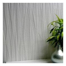 Brewster - Folded Paper Paintable Textured Vinyl Wallpaper Bolt - Wallpaper