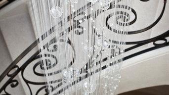 Collection Lustres et Mobiles en verre