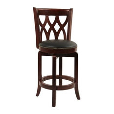 Cathedral Counter Stool Cherry