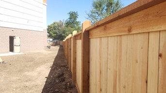 Commercial 6 ft Cedar Privacy Fence