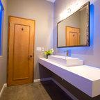 Jane Kim Design - Industrial - Bathroom - New York - by Jane Kim Design