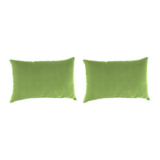 Jordan Manufacturing Sunbrella Pillows, Set of 2, Canvas Ginko